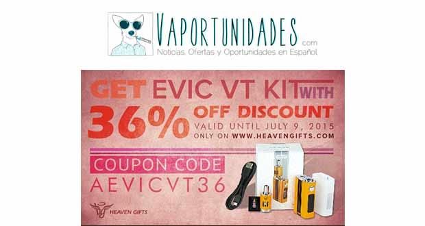 Heaven Gifts - 36% descuento en Evic VT