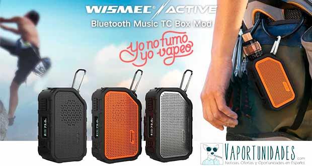 Wismec Active - Disponible en YoNoFumoYoVapeo