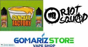 Pancake Factory y Riot Squad - Oferta
